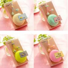 In-Ear 3.5mm Earphone #B Headset Cute Macaron Bread Storage For Phone PC MP3/4