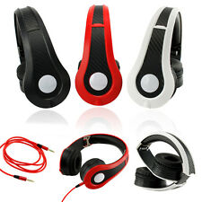Over-Ear Adjustable 3.5mm Earphone Stereo Headset Headphone for MP3,4 PC iPhone