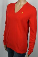 Ralph Lauren Blue Label Red Cashmere Crewneck Sweater NWT $298