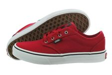 NEW NIB Vans Atwood Chilli Pepper VN-0KI514A Canvas Casual Shoes Medium Youth