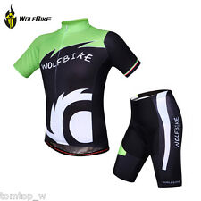 Unisex Sport Bike Cycling Jersey Top Shirt Bicycle Wear Clothing Short Sleeves