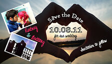 Save The Date Wedding Magnets Custom With Envelopes UNIQUE Save The Dates