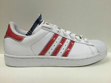 SCARPE UOMO ADIDAS ORIGINALE SUPERSTAR 2 114569 PELLE SCARPETTE SHOES SNEAKERS