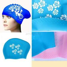 Extra Large Swimming Cap Silicone Swim Hat for Dreadlocks or Long Hair Braids