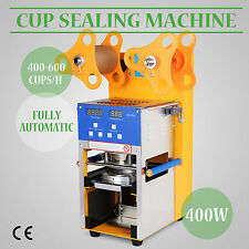 All Type Automatic Electric Cup Sealing Machine  Sealer For Bubble Tea Coffee