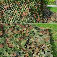 Hunting Camping Military Camouflage Net Woodlands Leaves 2Mx3M 3Mx4M Camo Cover