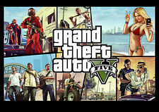 Grand Theft Auto 5 No2 Hi Game Action PC Xbox Play Station Screen Shot NEW