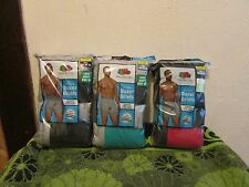 NEW~MEN'S FRUIT OF THE LOOM BIG & TALL  FASHION BRIEFS 5 PACK. NICE COLORS.