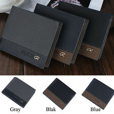 High Qulity Mens Wallet Leather Pockets ID Credit Card Clutch Bifold Money Purse