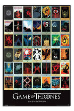 Game Of Thrones Episodes Poster New - Maxi Size 36 x 24 Inch