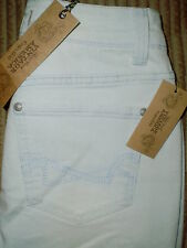 Nine West Vintage BOHO Straight Womens Cuffed Capri Jeans Size 2P | 10P New $59