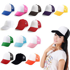 TRUCKER CAP BASEBALL CAP HAT BASEBALL CAP MANY COLOURS
