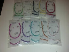 NWT Girls KIDS 3 PC Pearl Necklace Earring & Bracelet SET Gifts Pictures Easter