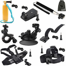EEEKit for Action Sports Cam,Chest/Head/Pole/Car/Bike/Floating/Clip/Wrist Mount
