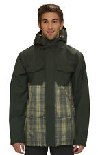 Quiksilver Reply Men's Snowboard Ski Jacket Shell NEW