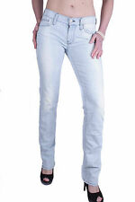 7 for all mankind Women's Jeans Light blue With Flaws W24-30
