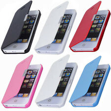 Glossy Magnetic For Apple iPhone 4S 5S 6 6 Plus Case Cover Leather Flip Protect