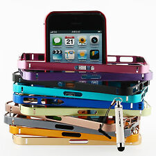 Colorful Ultra Thin Aluminium Protective Bumper Bezel Case For iPhone 5 5S Frame