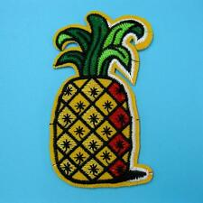 Pineapple Fruit Iron on Sew Patch Cute Applique Badge Embroidered Food Baby Hot