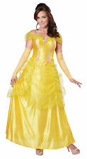 Adult Sexy Princess Belle Beauty And The Beast Costume Halloween