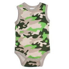 New Born Baby Infant Boy Sleeveless Babygrow Bodysuit Romper Clothes S2#3 3-6M