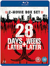 28 DAYS LATER / 28 WEEKS LATER - BLU RAY - NEW / SEALED