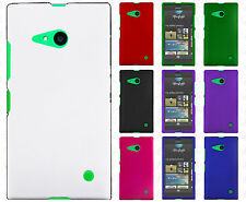 For Verizon Nokia Lumia 735 Rubberized HARD Case Snap On Phone Cover Accessory