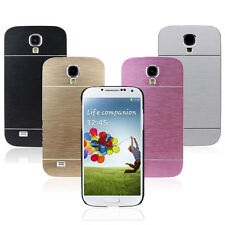 Salable 1PC Brushed Aluminium Metal Hard Case Cover For Samsung Galaxy S4 i9500