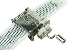 15 Notes Customize Tune Hand Crank Music Box Movements with Musical Strips