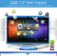 9 inch Google Android 4.2 Tablet PC 4GB Wi-Fi Front Camera W/O Keyboard Bundle