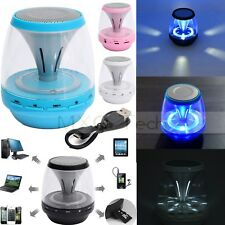 Mini LED Casse Portatili Wireless Bluetooth Stereo SPEAKER ALTOPARLANTE TF + Mic