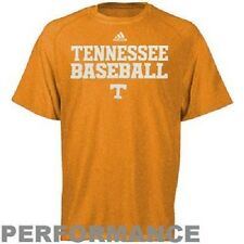 Tennessee Volunteers Baseball ClimaLITE Practice T-Shirt by adidas -Orange (Med)