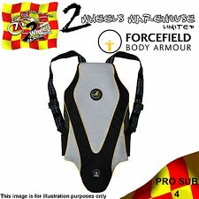 FORCEFIELD BACK PROTECTOR PRO SUB 4 FOUR MOTOR CYCLE BIKE RACE TRACK BODY ARMOUR