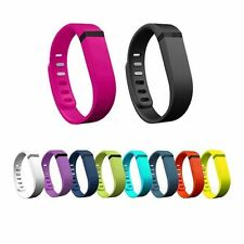 10 Pcs Small Large Replacement Wrist Band Wristband for Fitbit Flex with Clasps