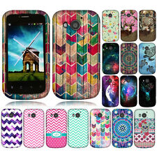 For Huawei Vision II 2 Chevron Zig Zag Snap On HARD Case Cover Accessory
