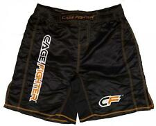 NEW! Cage Fighter Mixed Martial Arts Wrestling/Gym/Fitness Shorts - Black