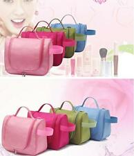 1pc Toiletry Wash Pouch Cosmetic Bag Travel Makeup Storage Case Hanging Grooming