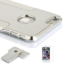 Shockproof Aluminum Metal Hard Back Case Cover for Apple iPhone 6 4.7 & Plus 5.5