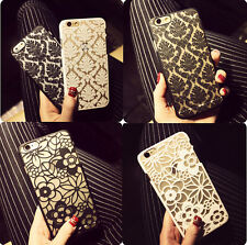 New Sale Damask Vintage Floral Pattern Matte Hard Case Cover For iPhone 5S 6plus