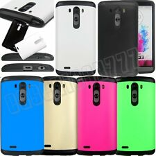 for LG G3 rugged hybrid rubber silicone havey duty shook proof case cover skin