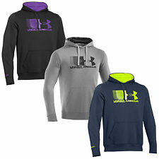 UNDER ARMOUR MENS STORM CHARGED COTTON BATTLE HOODIE - NEW UA GRAPHIC HOODY TOP