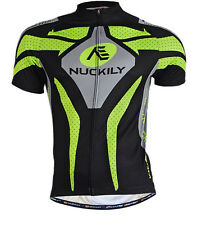 Mens Short Sleeve Cycling Biking Jerseys Bicycle Sportwear Jerseys Jacket Top