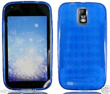 BLUE PATTERN TPU Protector Gel Case for Samsung Galaxy S2 SGH-T989