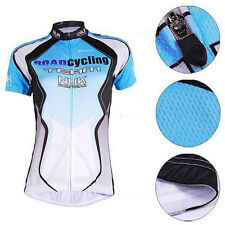 NUCKILY Blue Cycling Bicycle Comfortable outdoor Jersey size S - XXL For Women