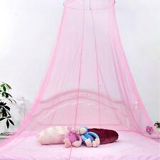 Stylish Lace Bed Mosquito Netting Mesh Canopy Princess Round Dome Bedding Net LG