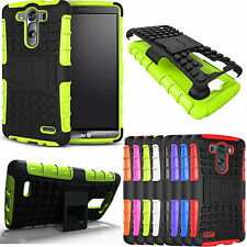 New Hard Armor Protect Shockproof Back Case Cover kickstand Skin For LG G3/G4