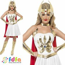SHE RA MASTERS OF THE UNIVERSE - UK 8-18 - womens ladies fancy dress costume