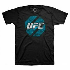 Adult Men's UFC Ultimate Fighting Championship MMA Eroded Black T-Shirt Tee