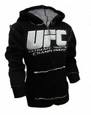 Youth UFC Ultimate Fighting Championship Black and White Hoodie Sweatshirt
