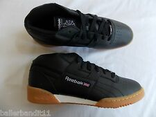 Reebok mens Workout Mid Gum shoes sneakers new V54970 DISPLAY